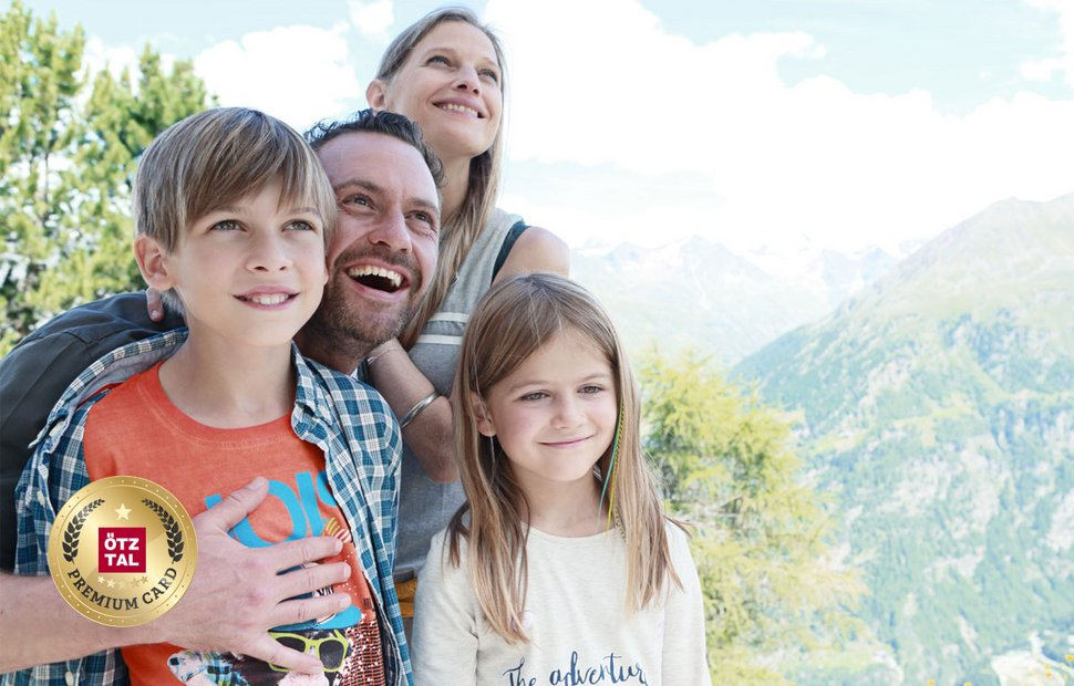 Fun for all the family with the Ötztal Premium Card