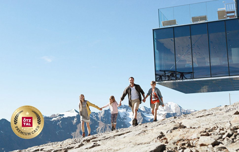 Hiking holidays with the Ötztal Premium Card
