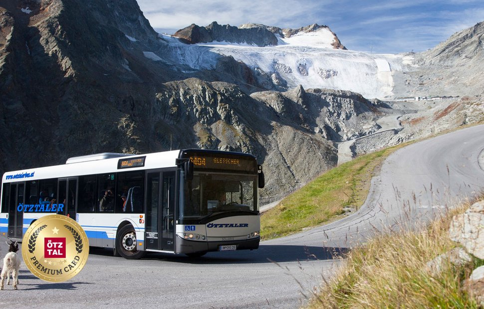 Use public transport for free with the Ötztal Premium Card
