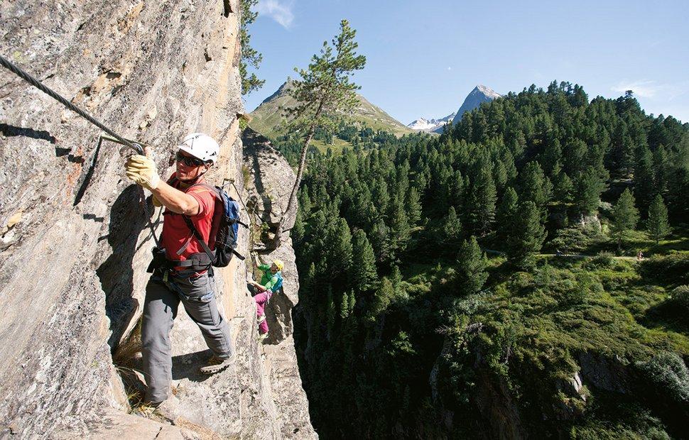 Climbing in Ötztal