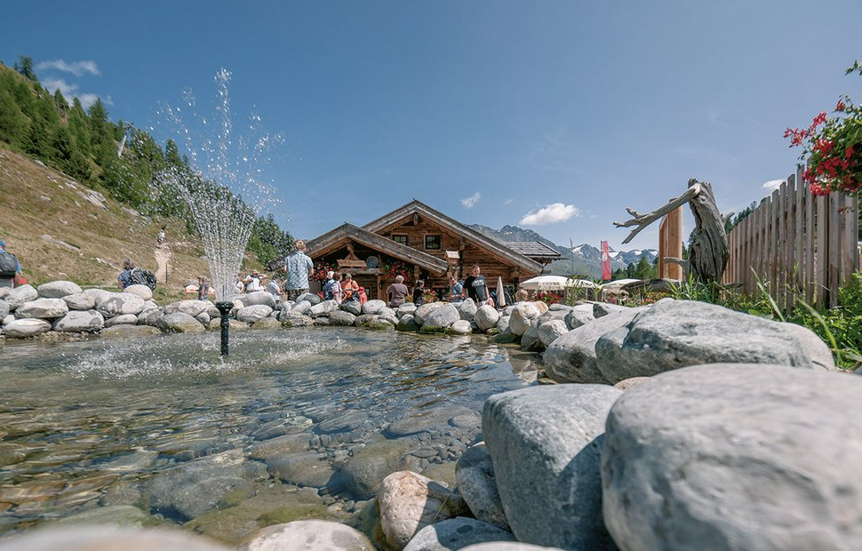 Almzeit Theme Trails in Sölden