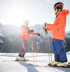 Skischulen & Sportshops