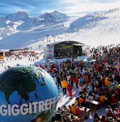 Skigebiet Sölden: