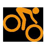 Biking funright to yourdoorstep